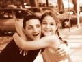 Antonio Di Dino mit Nichte Tiziana